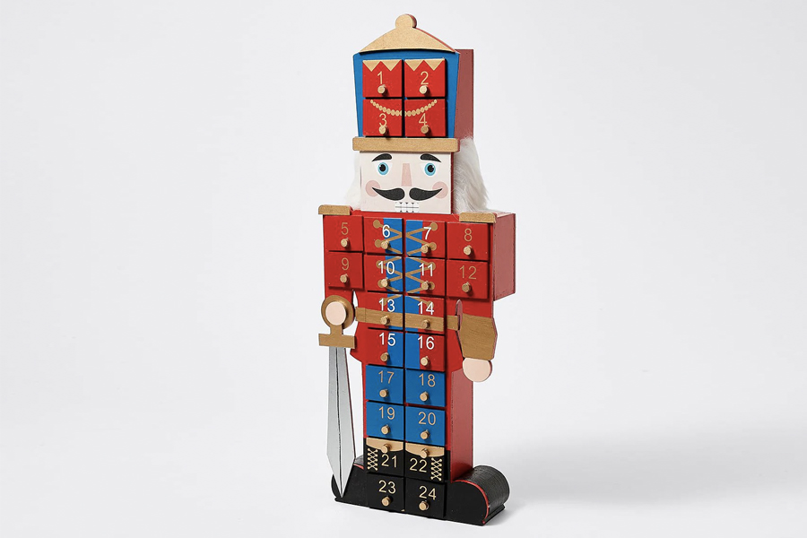 Best Advent Calendars - Target Christmas Nutcracker Traditional Advent Calendar