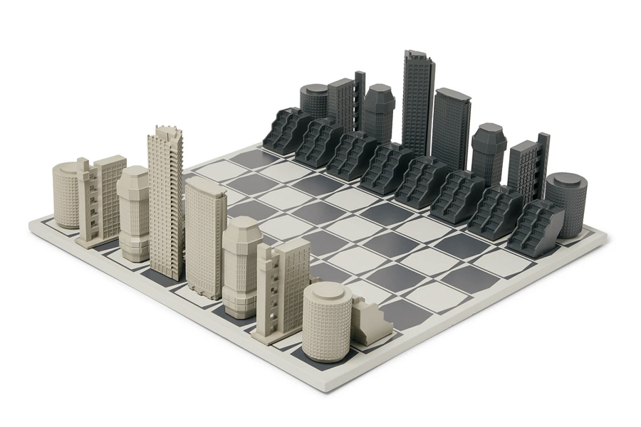 Best Chess Sets - Skyline Chess – London Brutalist Edition