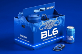 Bud Light BL6 Video Game Console