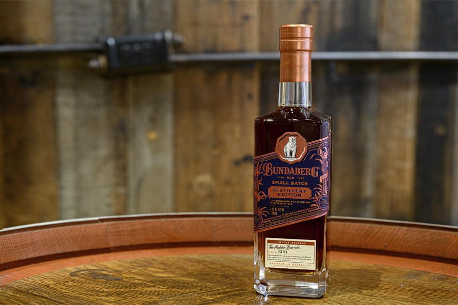 Bottle of Bundaberg Rum