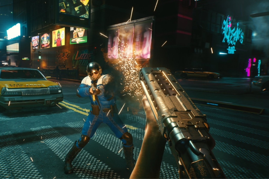 cyberpunk 2077 screen shot