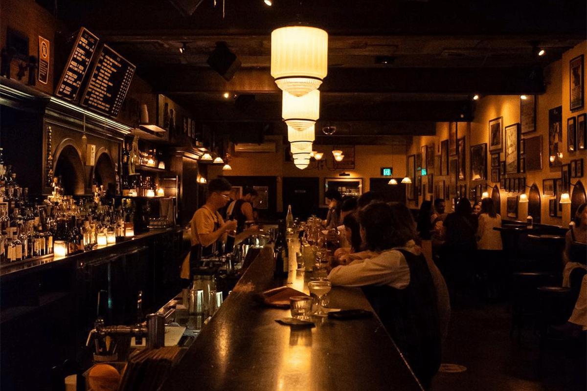 Earls Juke Joint whiskey bar