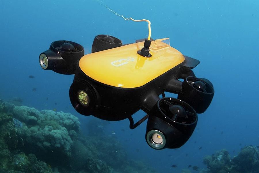 Geneinno T1 Pro подробно исследует подводные глубины    Человек многих