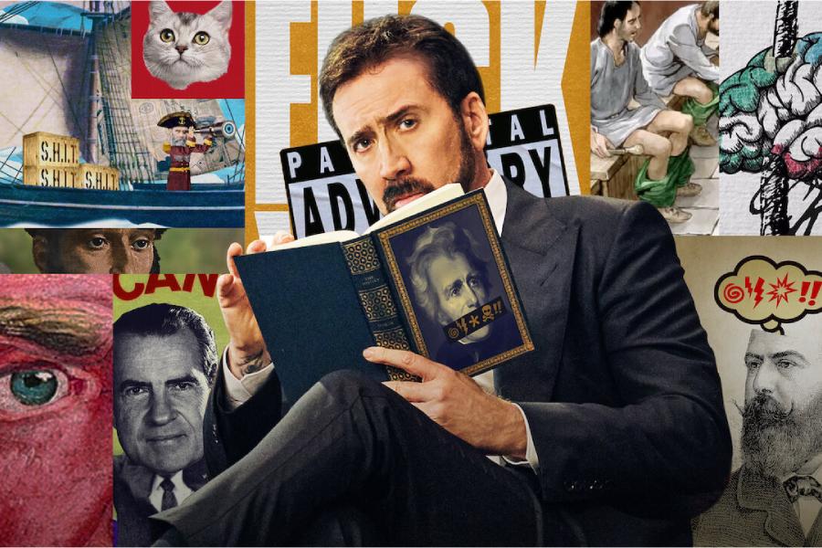 Николас Кейдж будет вести «Историю нецензурных слов» на Netflix |  Человек многих