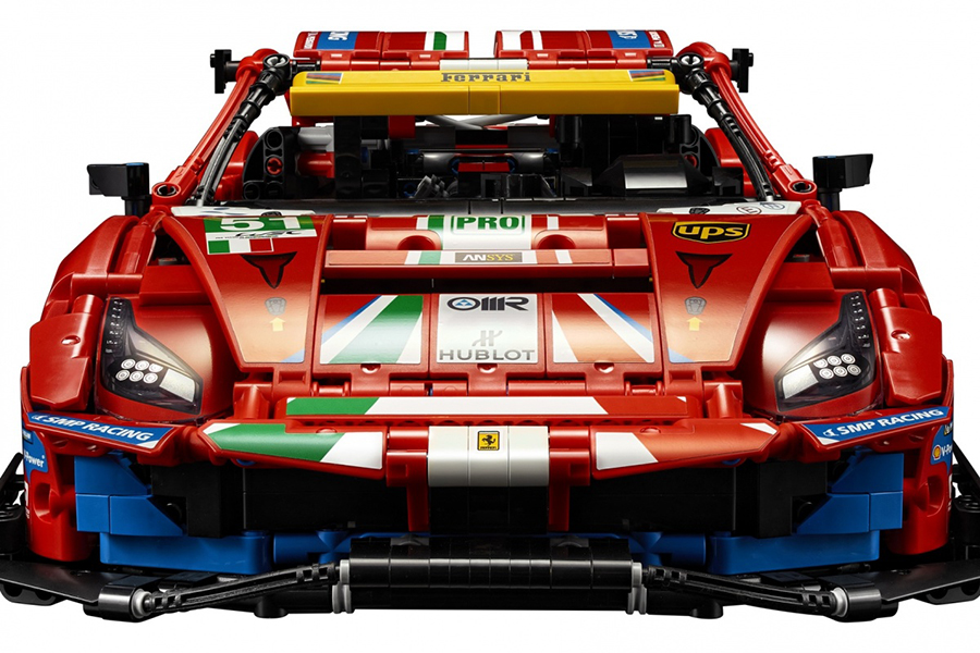 Lego Technic Ferrari 488 GTE Building Set front