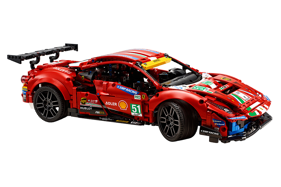 Lego Technic Ferrari 488 GTE Building Set