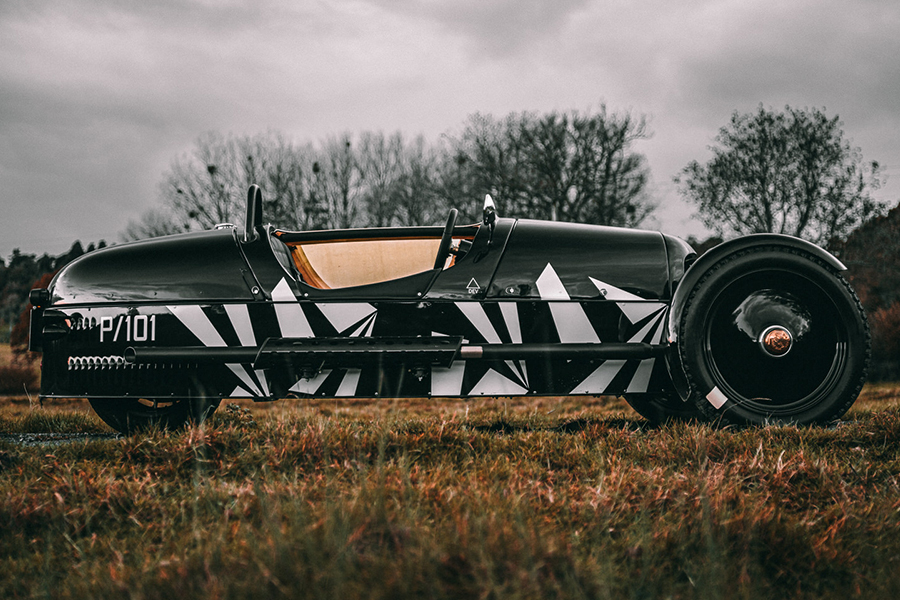 Morgan Launches New Limited Edition 3 Wheeler P101