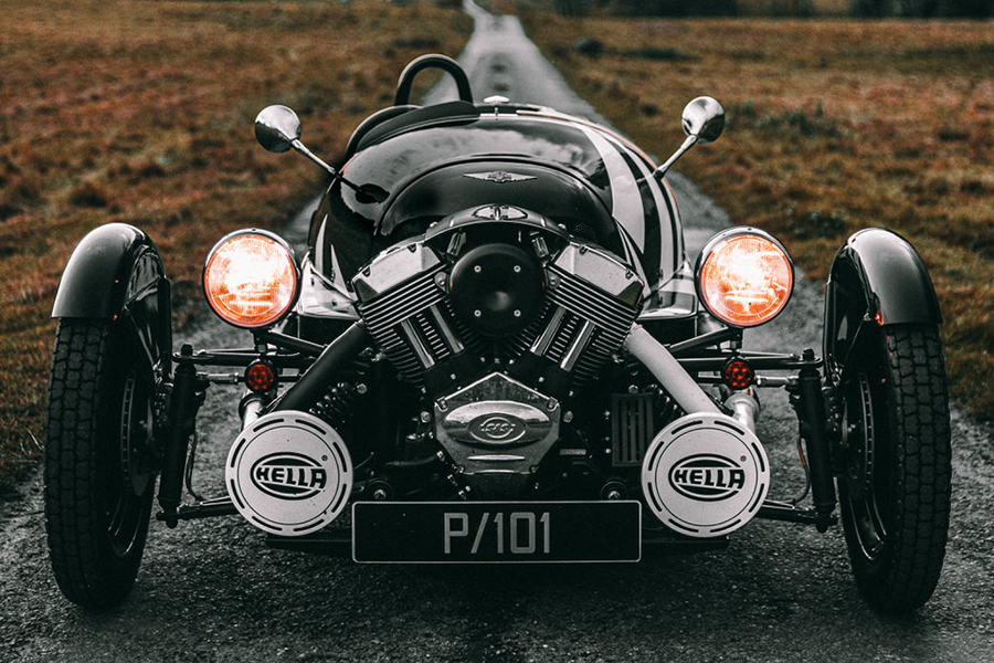 Morgan Launches New Limited Edition 3 Wheeler P101 front