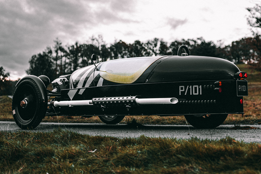 Morgan Launches New Limited Edition 3 Wheeler P101 side