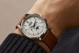 A JLC Master Control watch on a wrist