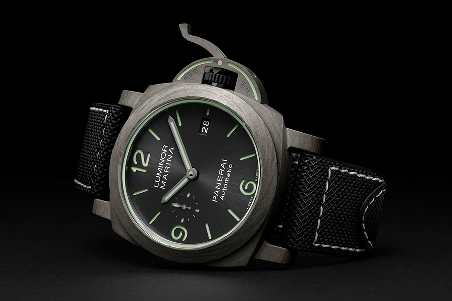 Top 100 Products of 2020 Panerai Luminor Marina Fibratech PAM1663