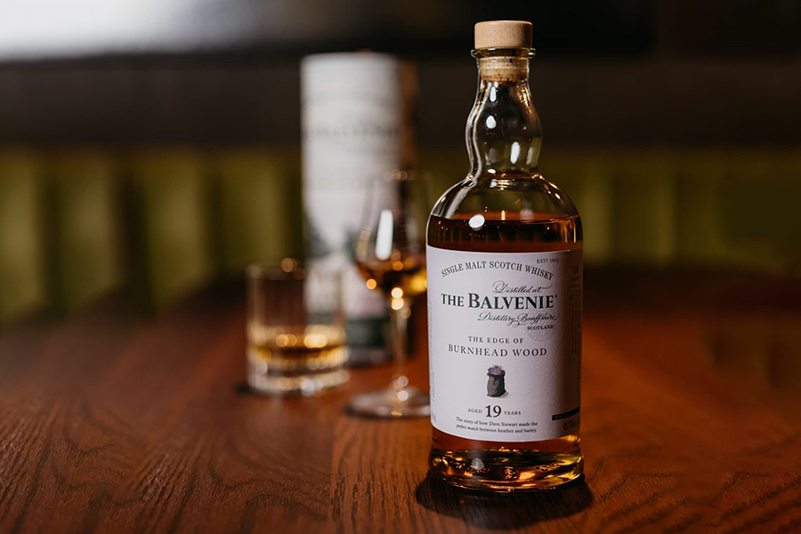 Top 100 Products of 2020 The Balvenie The Edge of Burnhead Wood 19 Year Old Single Malt Scotch
