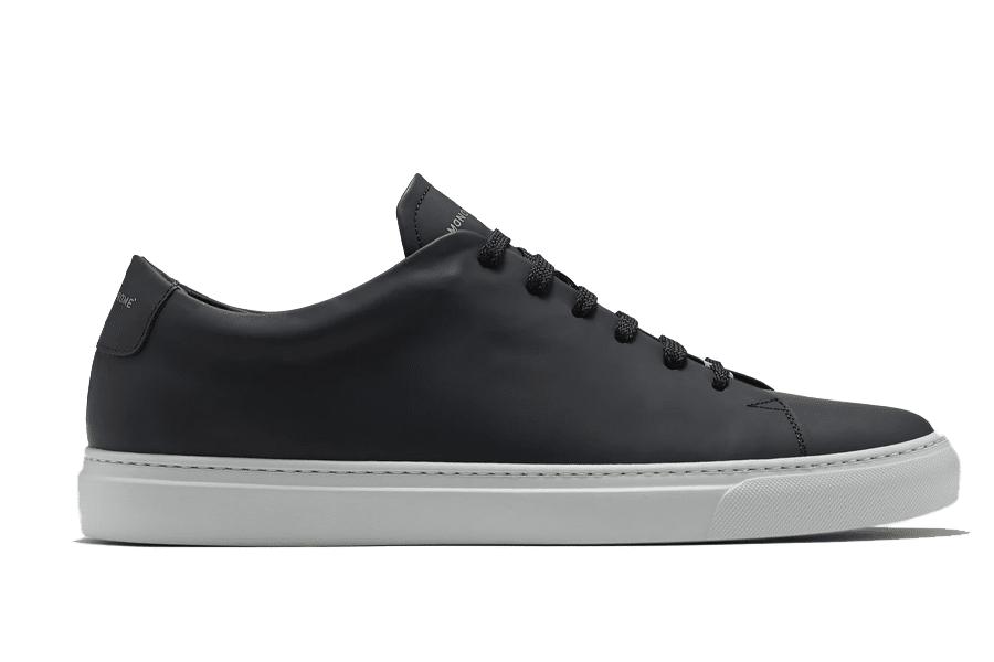 Monochrome Low Ultra Black Minimalist sneaker