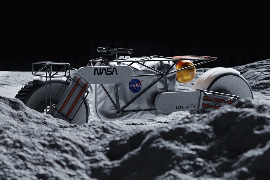 NASA Motorcycle