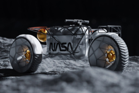 NASA Motorcycle Concept on the moon