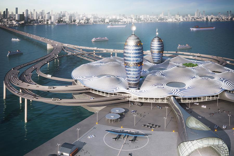 Noiz Japanese Spaceport City