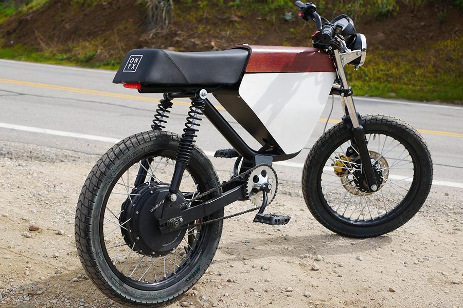 Onyx Motor bikes RCR - 72V back