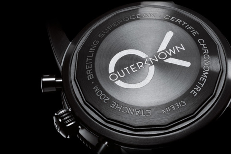 Outerknown x Breitling back