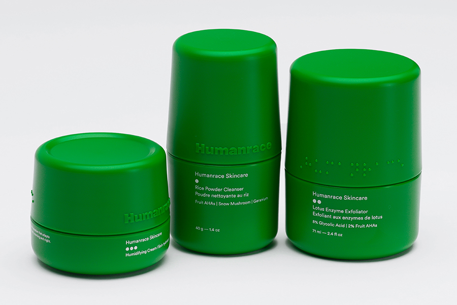 Pharrel Williams Humanrace Skincare set of three