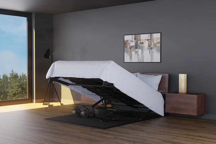 Pivot Bed Home Gym adjustment