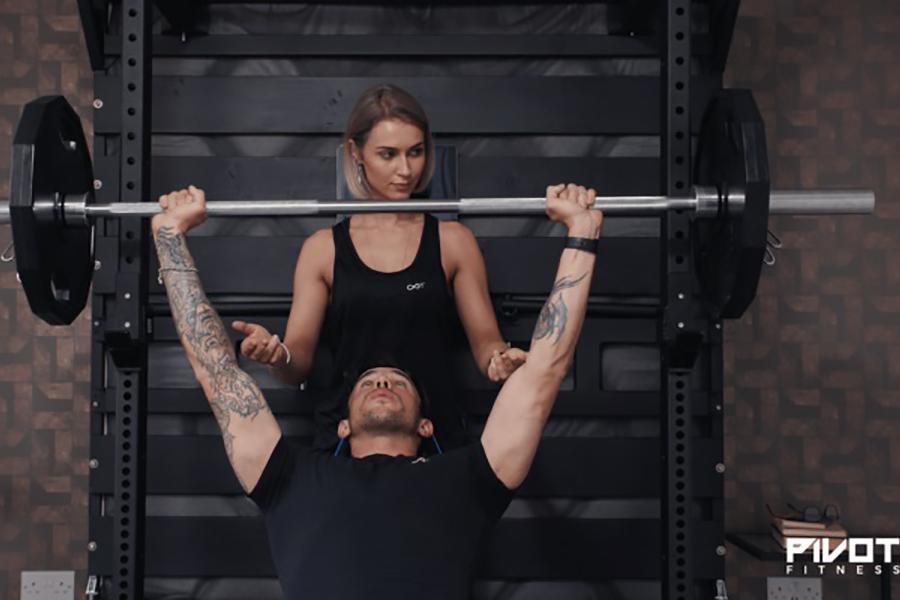 Pivot Bed Home Gym workout