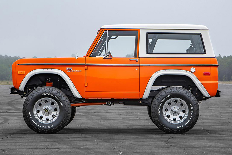 Pristine 1974 Ford Bronco up for Auction in Florida