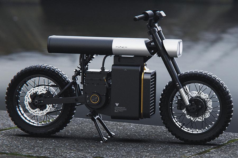 Punch Urban Electric Motorbike