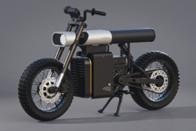 Punch Urban Electric Bike side