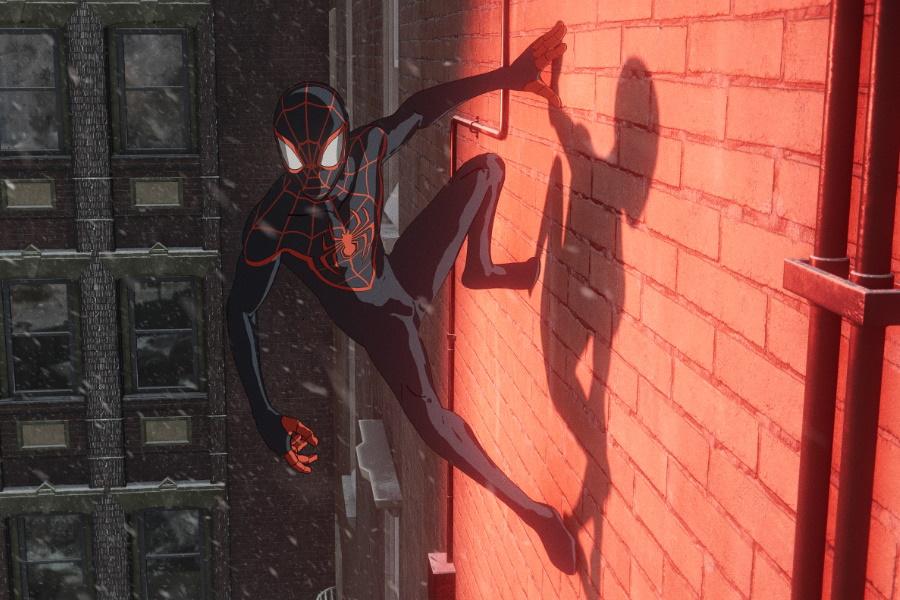 человек-паук на playstation 5