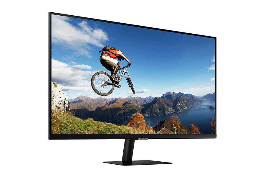 Samsung Smart Monitor side