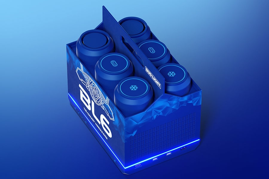 The Budlight Video Game Console