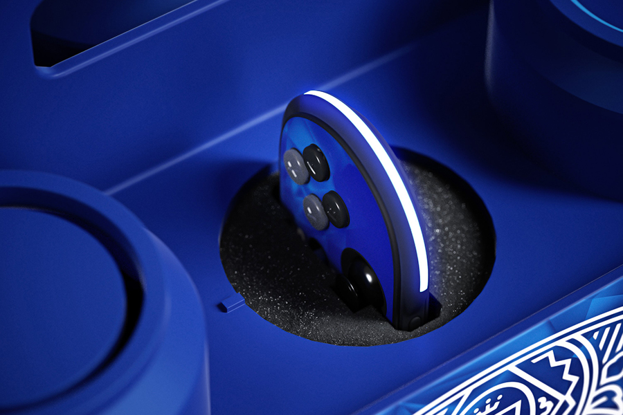 The Budlight Video Game Console charge