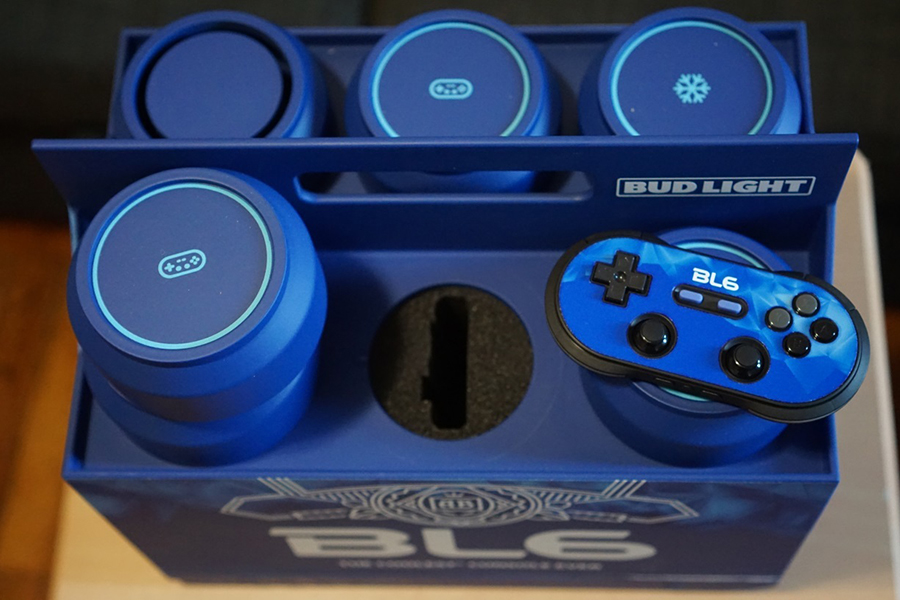 The Budlight Video Game Console top