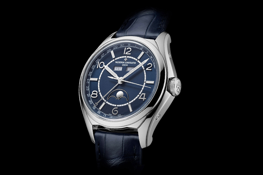 Vacheron Constantin Fiftysix Day-Date Petrol-Blue dial
