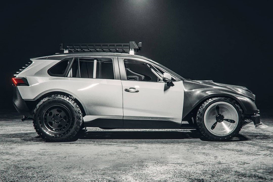 The.Kyza Rav 4 concept vehicle