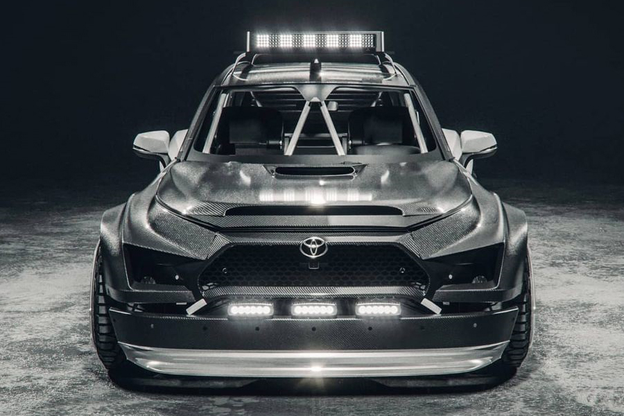 The.Kyza Rav 4 concept front
