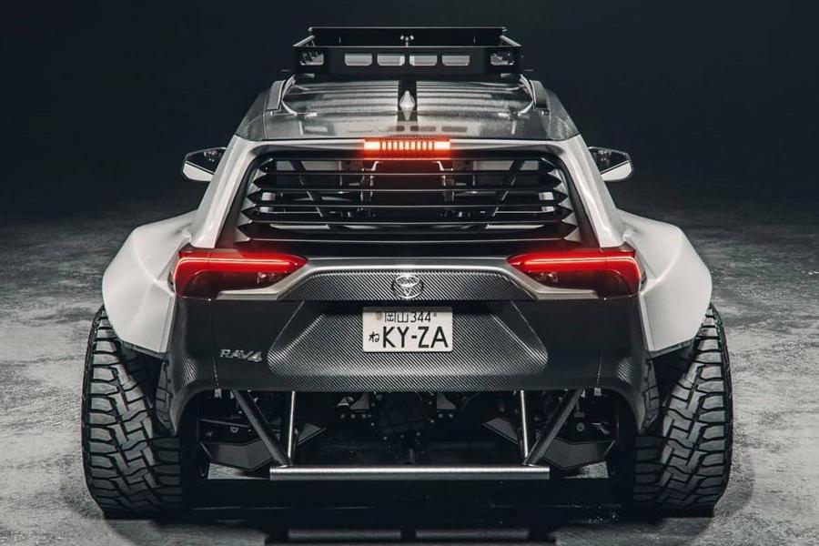 The.Kyza Rav 4 concept back