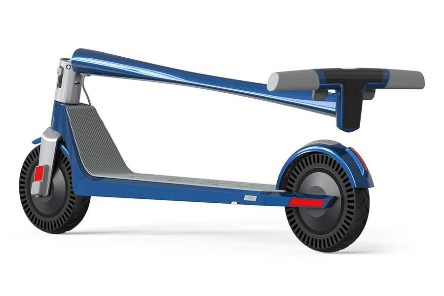 Unagi Model One Electric Scooter side