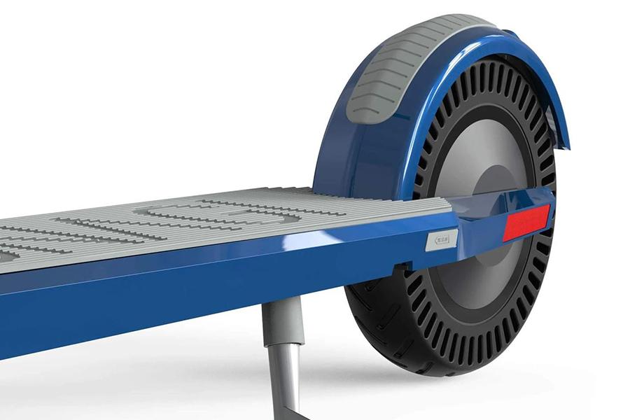 Unagi Model One Electric Scooter back wheel