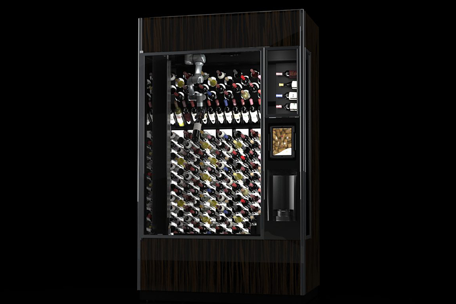 Winecab AI Winewall cabinet