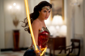 Wonder Woman with her Lasso of Truth