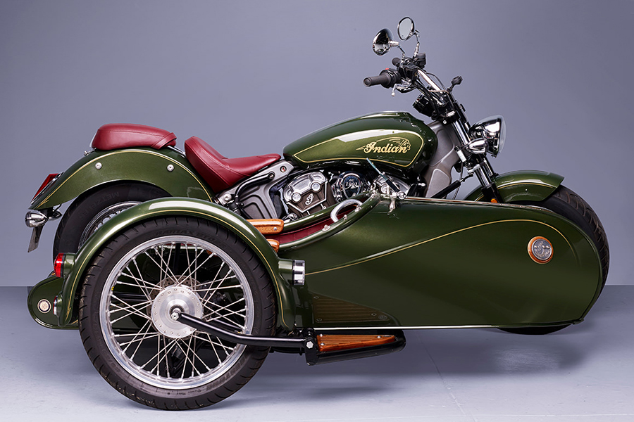 Indian Scout Sidecar from France