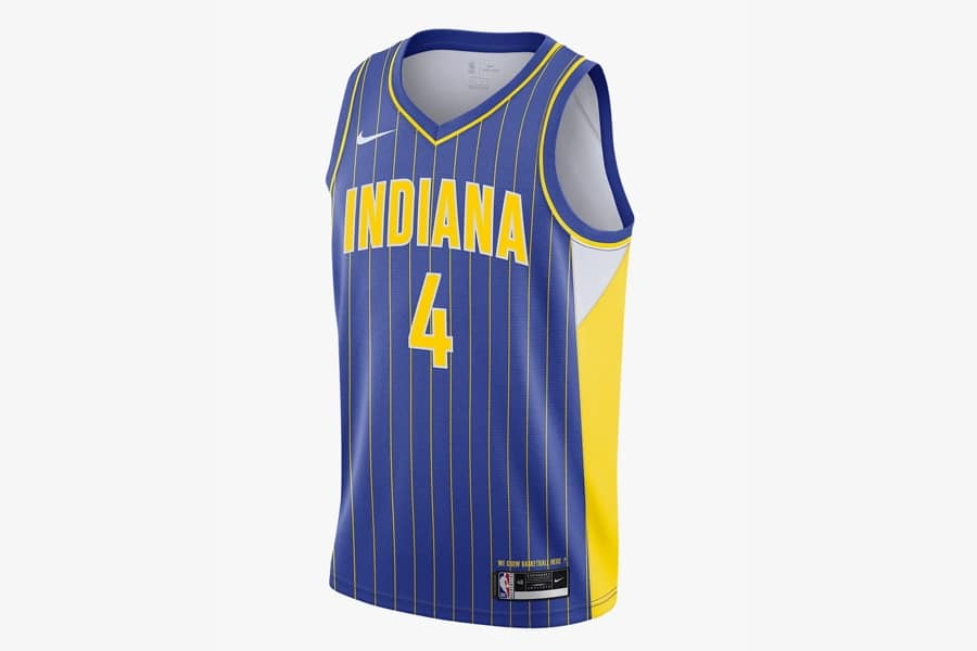 Nba city edition jersey 2021 indiana pacers city edition 1