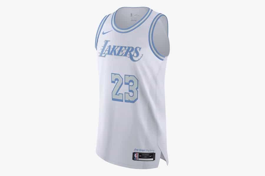 Nba city edition jersey 2021 la lakers 1