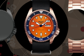 Seiko Mix Your Watch screen