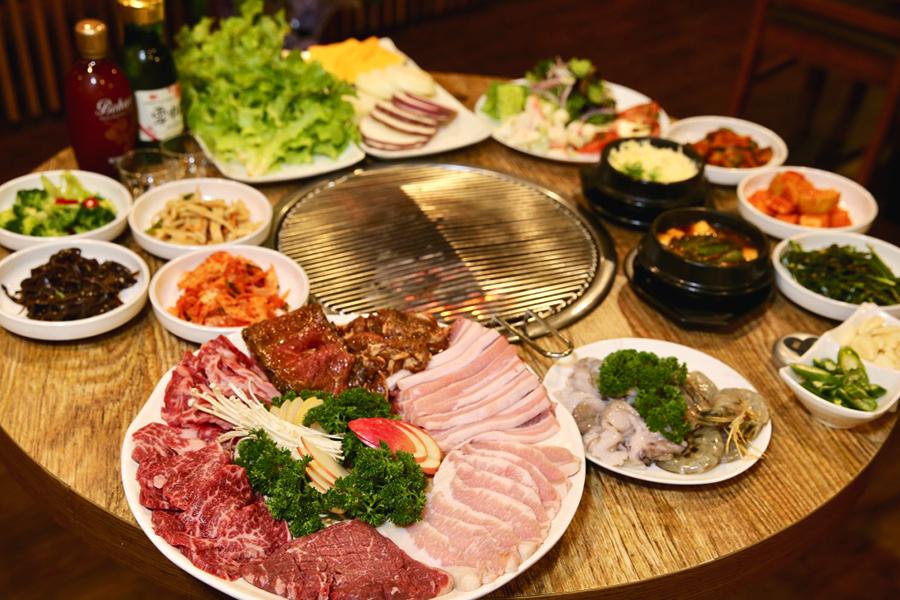 Best Korean BBQ Restaurants in Brisbane Restaurant Red & Green