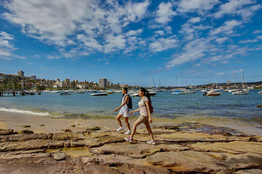 Best Walking Tracks and Trails Sydney Manly to Spit Walk