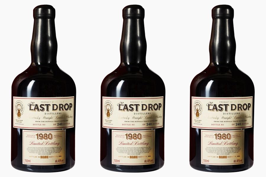 Botol burbon jejak kerbau super langka 1980