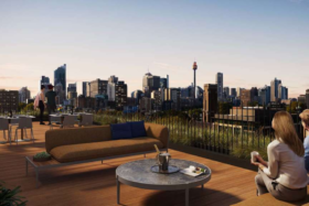 Terrace at Sydney 25Hours hotel