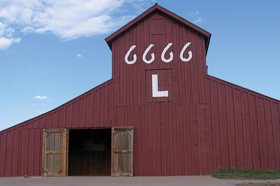 6666 Ranch up for sale barn